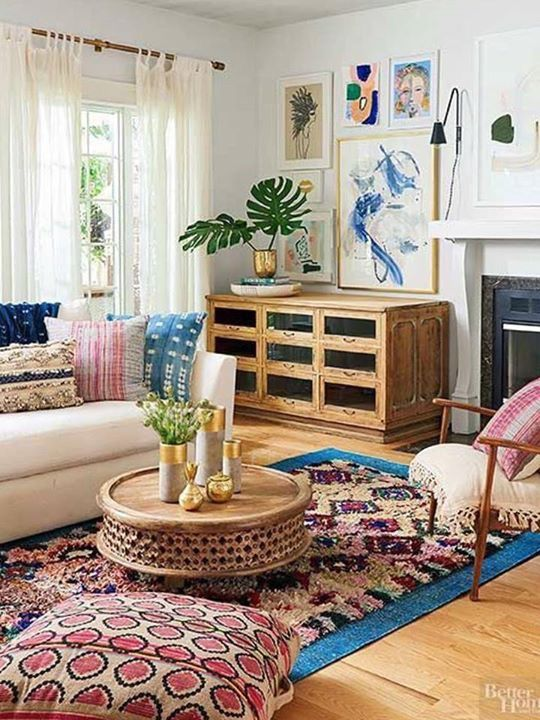 3832 best decorate images on pinterest living spaces - Boho chic living room decorating ideas ...