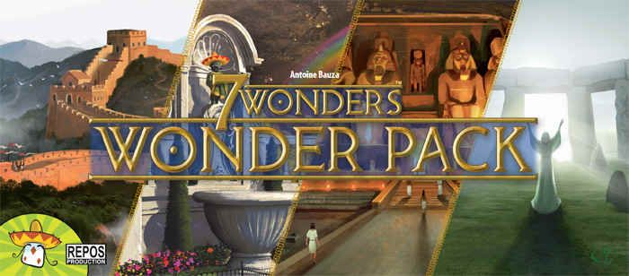 7 Wonders: Wonder Pack | Board Game | BoardGameGeek