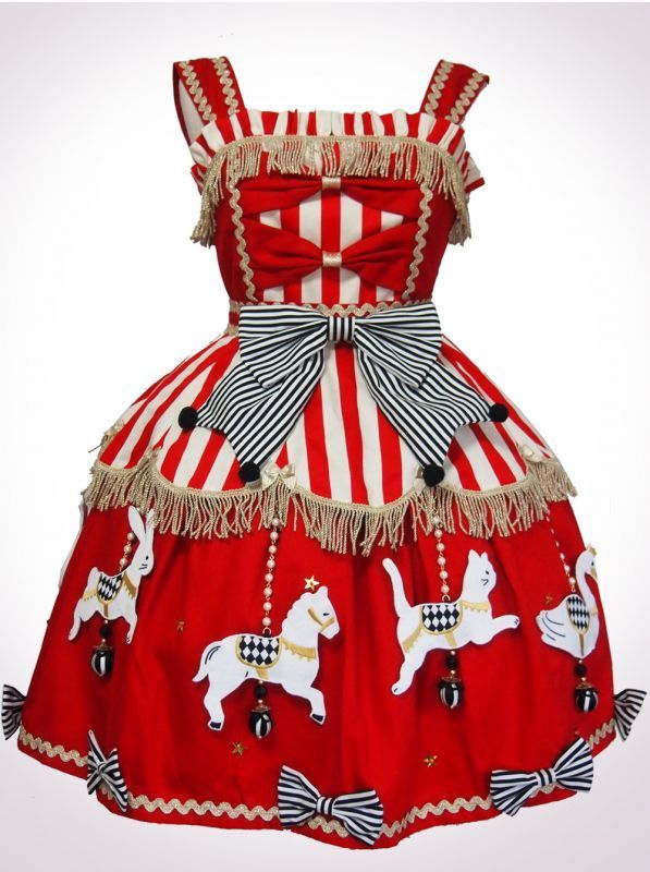Vierge Vampur - Circus Lolita. Animal Carousel JSK