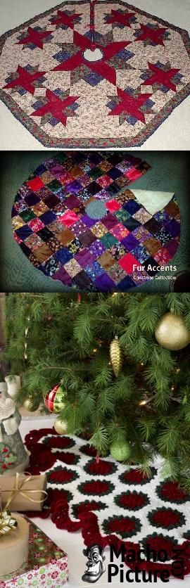 Victorian christmas tree skirt - 6 PHOTO!