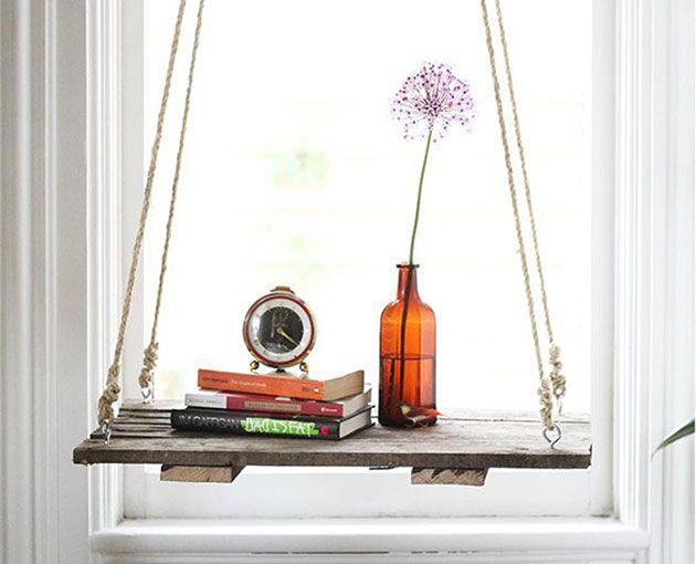 10 ideas para hacer estantes colgantes DIY | Mil Ideas de Decoración