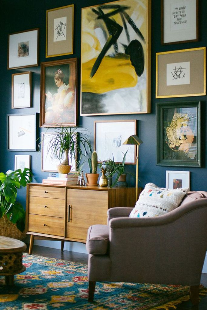 Une gallery wall pour mon appartement