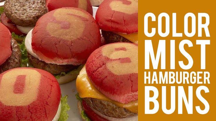 How to Color Hamburger Buns