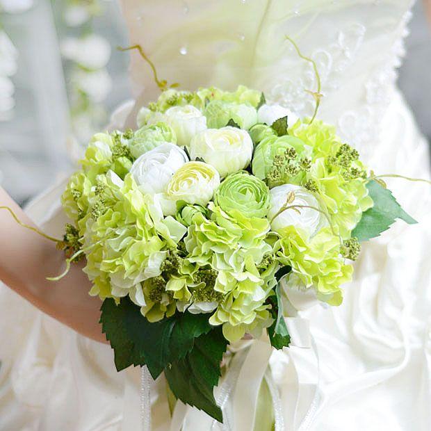 Häufig Les 25 meilleures idées de la catégorie Bouquet d'hortensia vert  PJ67
