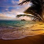 Lanikai Beach at Sunset: Oahu