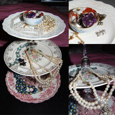 ASK: DIY : jewelry display / cake stand