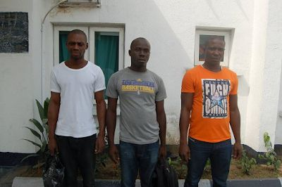 Illegal Oil Bunkering: Nigerian Navy hands over three suspects four vessels to EFCC