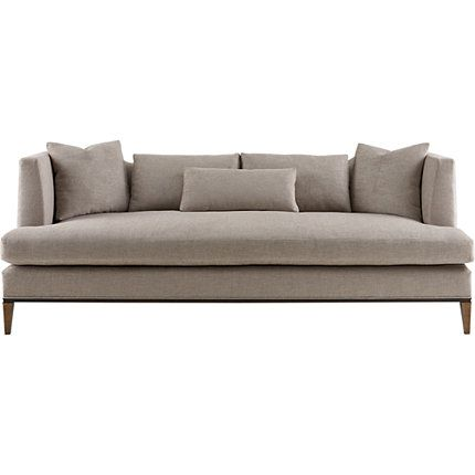 A thought for the LR sofa Baker Furniture : Presidio Sofa - 6729S : Barbara Barry : Browse Products
