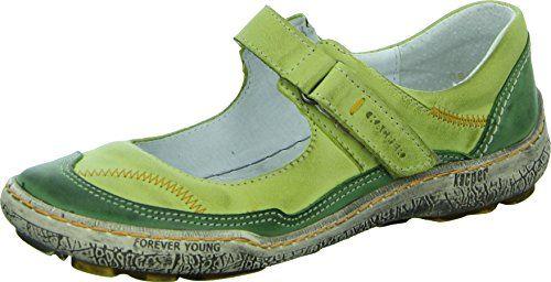 Kacper 2-3949 Damenschuh Sandale Leder Riemchen Klettverschluss Moderner Schnitt Ziernähte Farbe: Grün - http://on-line-kaufen.de/kacper/kacper-2-3949-damenschuh-sandale-leder-riemchen