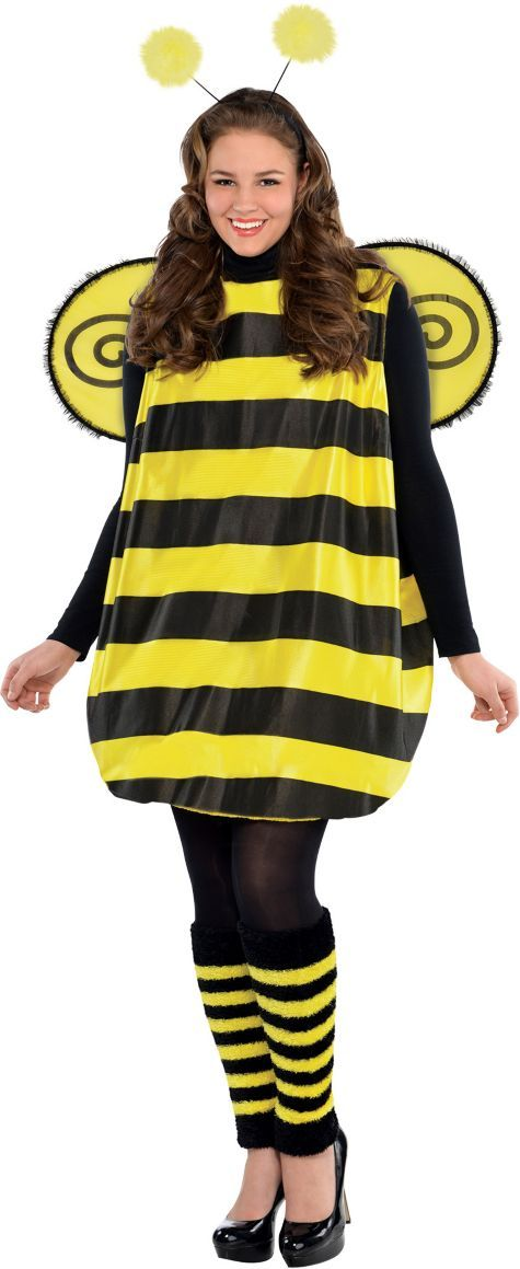 Adult Darling Bee Costume Plus Size - Party City