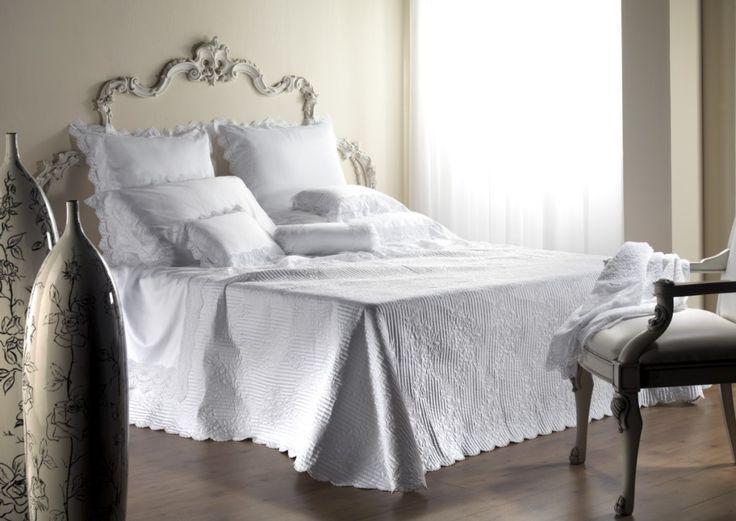 "Belvivere Luxury Italian Linens : ""Romance"" Bedding Collection"