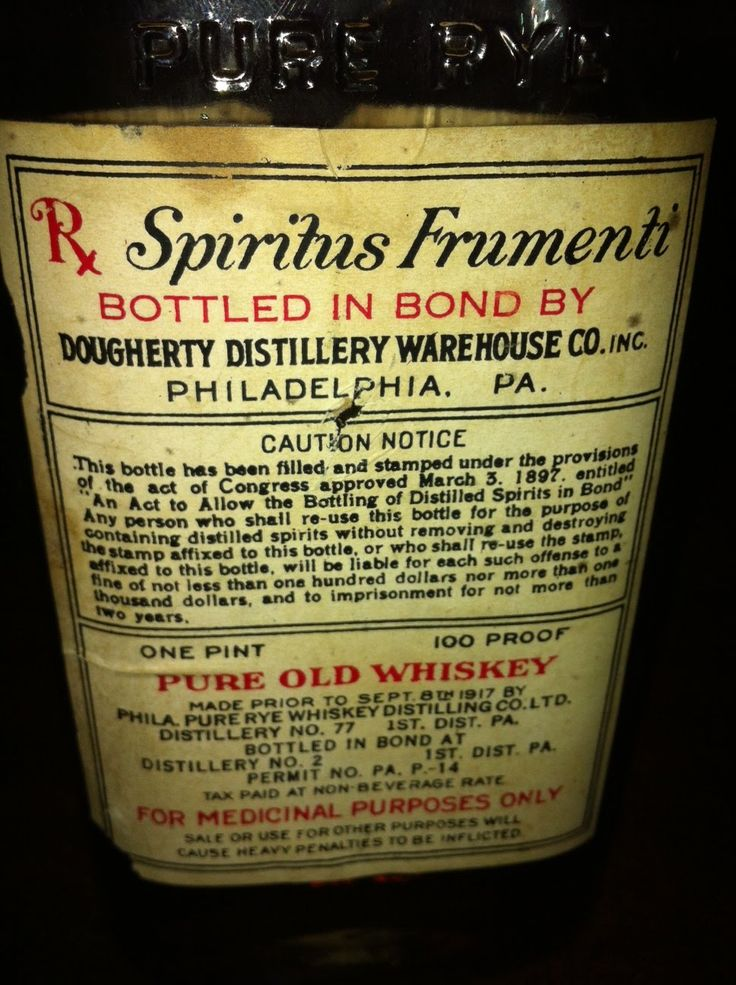prohibition.  For medical purposes only