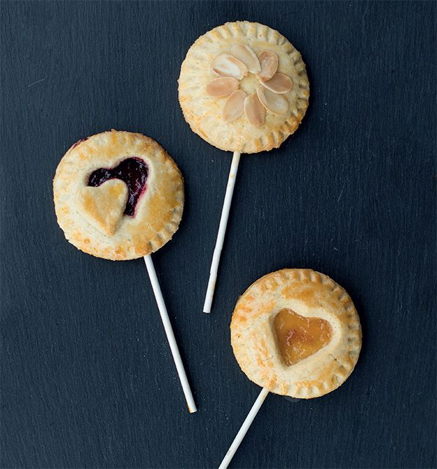 Leckere Pie-Pops. Aus unserem Buch 'Let's bake!'
