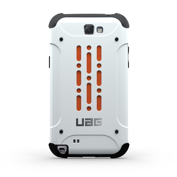 When you need something RUGGED!!!  Amazon.com: Urban Armor Gear UAG-GLXN2-WHT/BLK-VP Composite Case with Impact Resistant Bumpers and Screen Kit for Samsung Galaxy Note 2 - White: Cell Phones & Accessories
