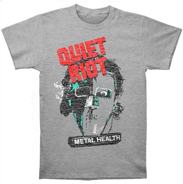 QUIET RIOT Metal Head Slim Fit T-shirt  #rockabilia #licensedmerchandise #merchandise #merch #pinoftheday #accessories #metal #rock #bands