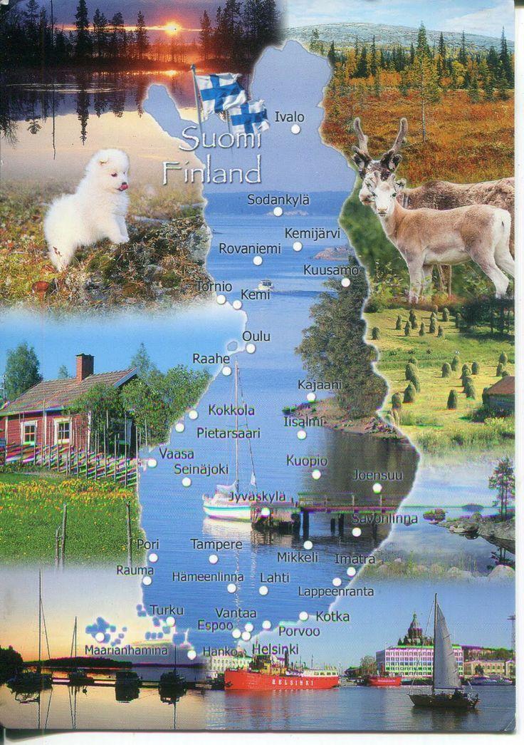 Finland - Jedno z Bardzo Wspanialych i Bardzo Przepieknych Panstw w jakich z bardzo wielka checia chcialbym tam osiasc, oraz zamieszkac !!! :) ;)