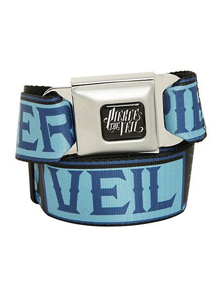 Pierce The Veil Skull Seat Belt Belt | Hot Topic I have a thing for these belts and I don't know why >.<