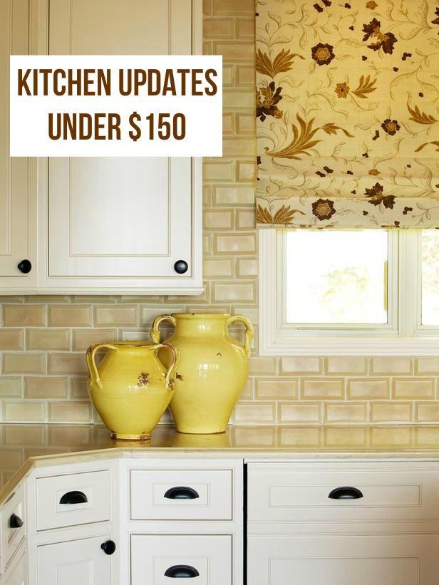 Kitchen Updates for Under $150!