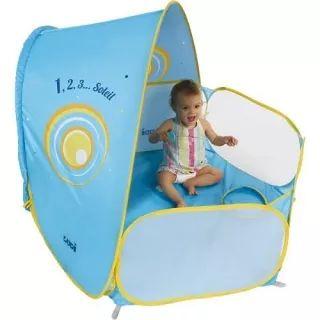 Ludi Βρεφική τέντα μωρού με UV προστασία και φράχτη