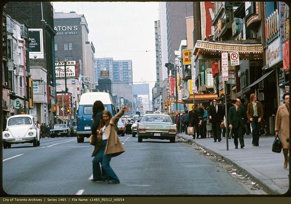 What Yonge Street looked like in the 1970s