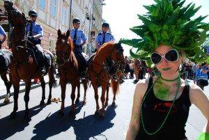 Legalizing marijuana in Prague