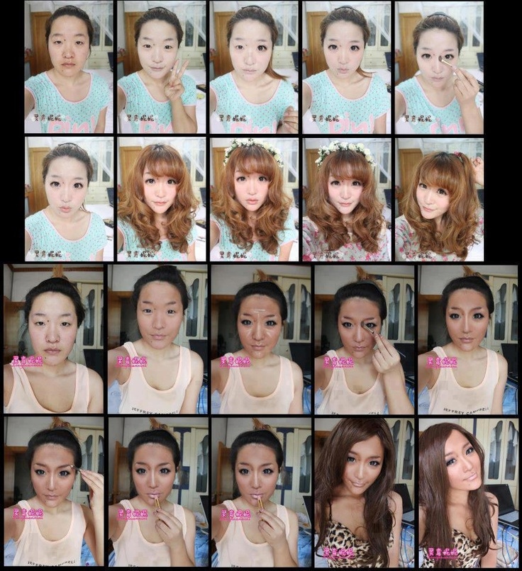 The Power Of Makeup Same Girl But Looks Like Two