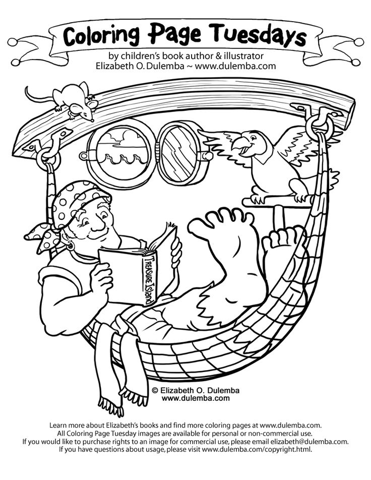 pirate coloring pages elementary - photo#5