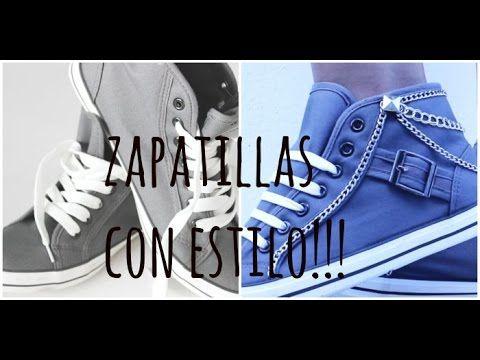 como decorar zapatillas!!-YOSOYDESI - YouTube