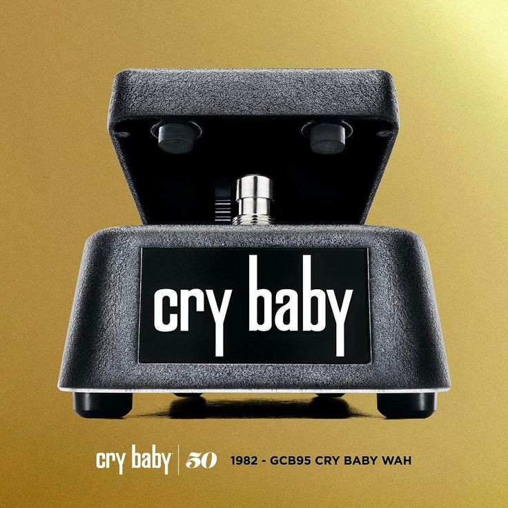 THE EVOLUTION OF THE CRYBABY WAH: GCB95 Cry Baby Standard Wah - 1982 The GCB95 Cry Baby Standard Wah was the very first wah Dunlop released after we acquired the Cry Baby brand in 1982. Its a modern interpretation of the original Cry Baby sound tuned for a more focused high end and a more aggressive and accentuated response.  Head to our blog to learn about the evolution of the Cry Baby Wah. Link in bio. #crybaby50 #crybabywah  #jimdunlopusa #performanceiseverything