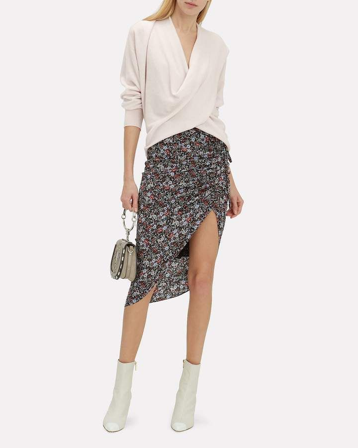 c00e6686ee17 Veronica Beard Ari Floral Ruched Skirt #Ari#Beard#Veronica | Vintage ...