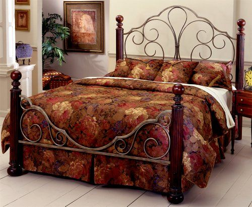 hillsdale ardisonne poster bed queen hillsdale furniture httpwwwamazon - Bed Frames Amazon