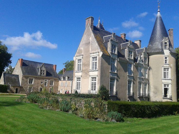 Le Plessis-Chivré à Etriché en Anjou