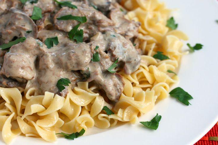 slow cooker beef stroganoff recipe easy best