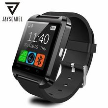 U8 Bluetooth Relógio Inteligente Para Android iOS Sincronização Phone Call Relógio Do Esporte U Smartwatch Pedômetro Anti-Lost PK GT08 GV18 DZ09