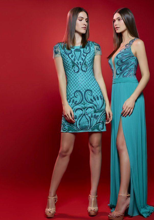 50 tons de verde: vestidos de festa do verão 2016 - Madrinhas de casamento