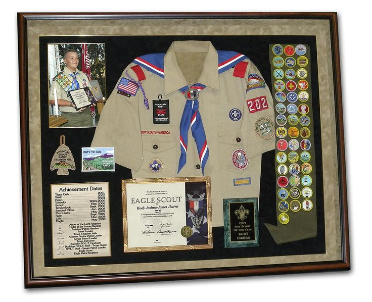 Much Better Way To Commemorate The Scouting Accomplishments Than Sticking It In A Box