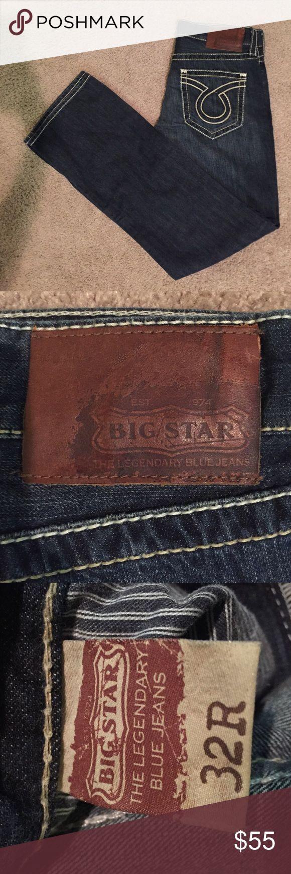 NWOT Men's Big Star Jeans Mens designer boot cut jeans Big Star Jeans Bootcut