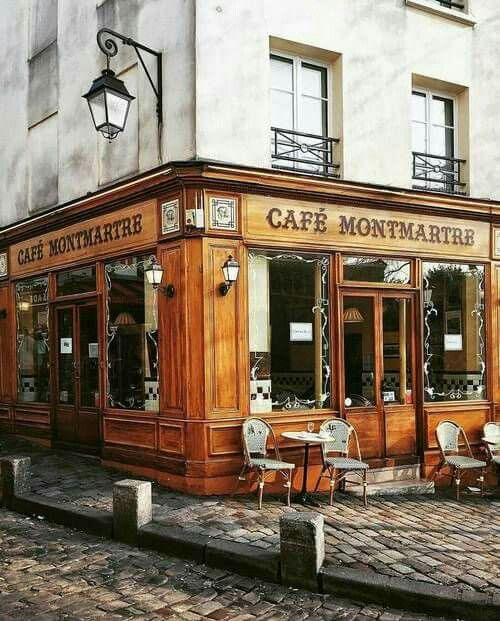 Cafe' Montmarte - Paris - France