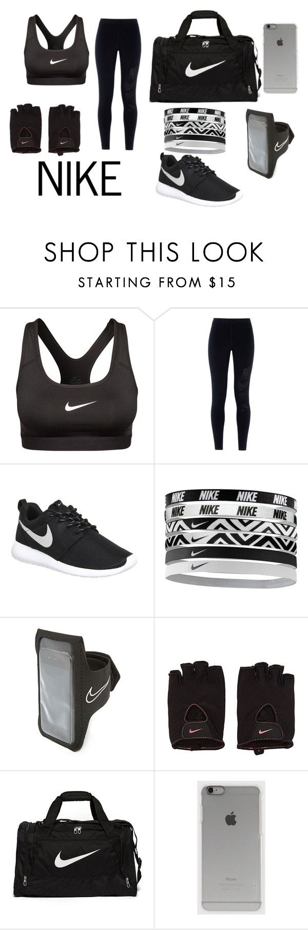 """NIKE"" by abi-tong on Polyvore featuring NIKE, Incase, women's clothing, women's fashion, women, female, woman, misses and juniors"