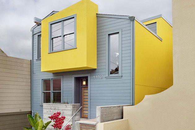 45 Fotos Y Colores Para Pintar Casa Por Fuera Mil Ideas De Decoración Colores Para Casas Exteriores Colores Para Casas Colores Para Pintar Casas