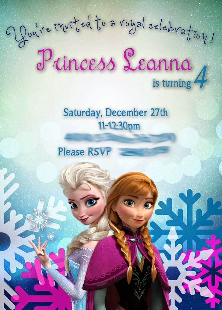 My daughter just turned 4. I can't believe it! Time has gone WAY too FAST! SLOW DOWN! This year for her party she wanted a Frozen Theme...
