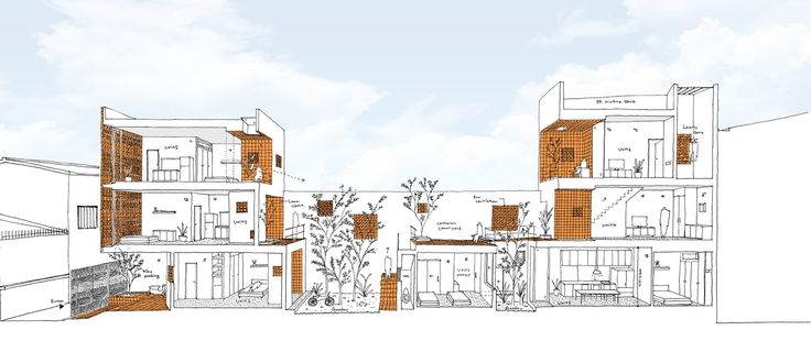 Apartamento en Binh Thanh,Concepto - Esquema