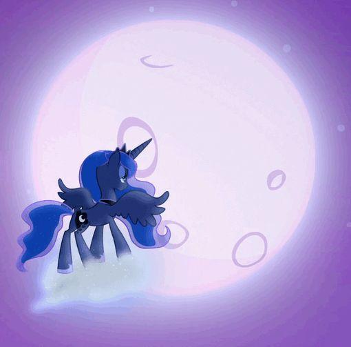 #1279609 - animated, dream walker luna, moon, princess luna, safe, screencap, solo, spoiler:s06e25, to where and back again - Derpibooru - My Little Pony: Friendship is Magic Imageboard
