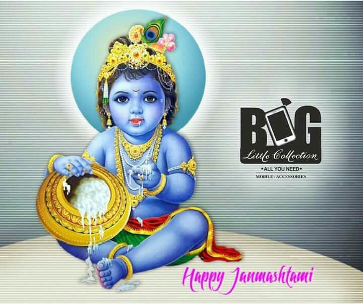 May the love and blessings of Lord Krishna... Fill your life with happiness and virtues... On Janmashtami and Always Happy Janmashtami  #BigLittleCollection #Panaji