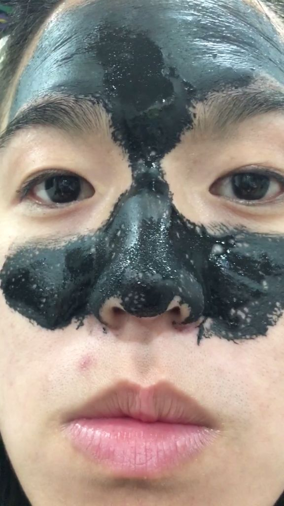 25 b sta charcoal peel off mask id erna p pinterest ansiktsmasker och hemgjorda sk nhetstips. Black Bedroom Furniture Sets. Home Design Ideas