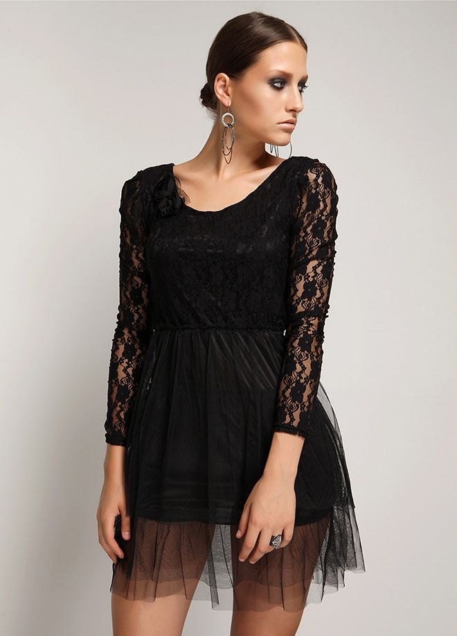 Stil Aşkı: Siyah Kuğu Havuz yaka elbise Markafoni'de 49,99 TL yerine 14,99 TL! Satın almak için: http://www.markafoni.com/product/4752469/ #markafoni #fashion #instafashion #style #stylish #look #photoshoot #design #designer #bestoftheday #black #girl #model #beautiful #dress