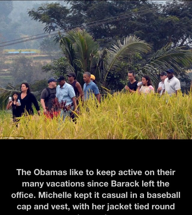 #TheObamas #FamilyVacation �#44thPresident #BarackObama #FirstLady #MichelleObama & Their #Daughters #MaliaObama & #SashaObama #Bali #Indonesia #Vacation #June24 #2017 Barack Obama #lived there in the 1960s after his mother Ann Dunham married second husband Lolo Soetoro, a native #Indonesian his #sister Maya Soetoro-Ng. & her family joined The Obamas on Vacation �#ObamaFamily #ObamaGirls #ObamaLegacy #ObamaHistory #ObamaLibrary #ObamaFoundation Obama.org