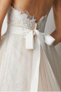 .: Wedding Dressses, Lace Wedding Dresses, Ribbons, Lace Detail, Lace Bows, Romantic Dresses, The Dresses, Dresses Back, Back Details