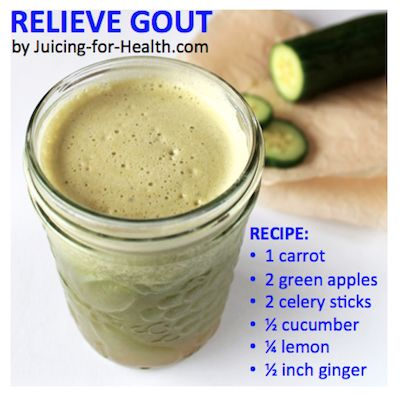 Reduce Gout Attacks — Juicing For Health