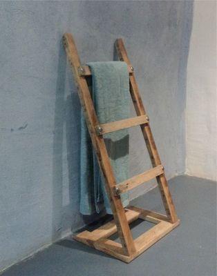 Les 25 meilleures id es concernant porte serviettes en for Porte serviette en bois